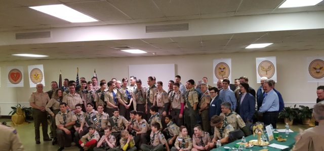 Troop 173 Luncheon and Court of Honor