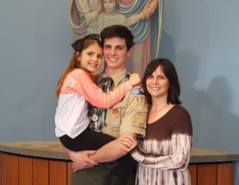 Congratulations to Eagle Scout Tim Henning!