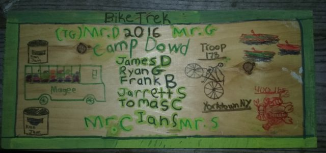 Troop 173 Bike Trek Recap & Photos