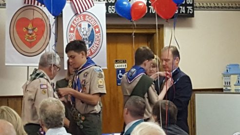 Eagle Scout Court of Honor – Tomas and Robert
