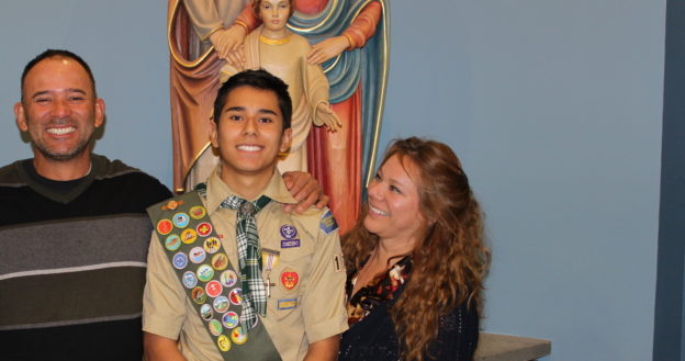 Troop 173 's Newest Eagle Scout, Sebastian C.