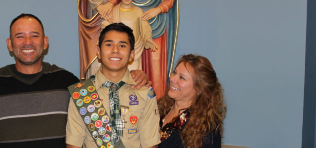New Eagle Scout!