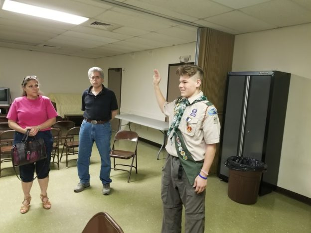 Congratulations to Troop 173's Newest Eagle Scout, Ross!