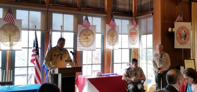 Eagle Scout Court of Honor – Matthew