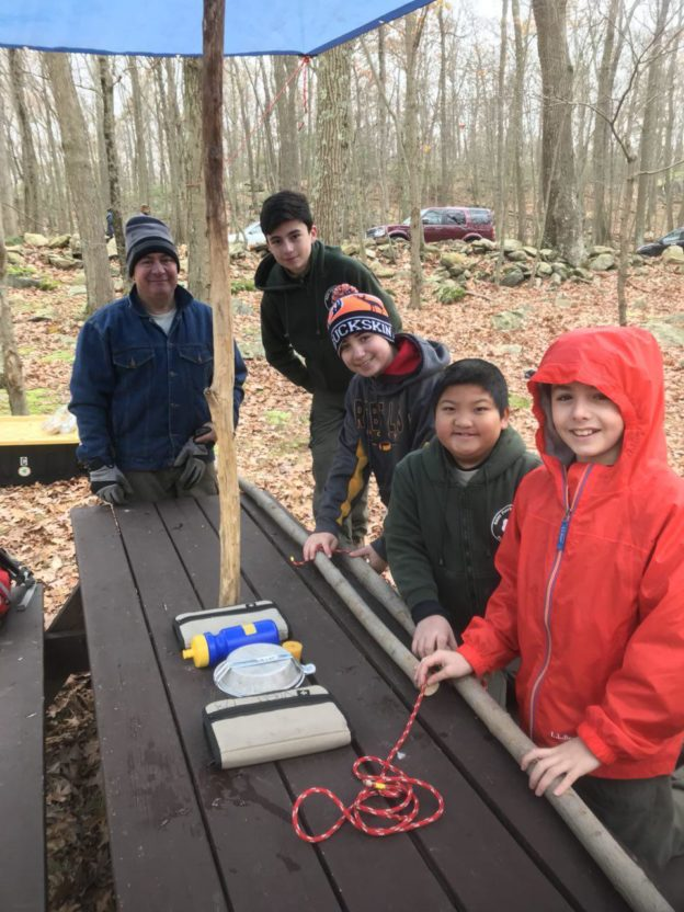November Family Campout at Durland