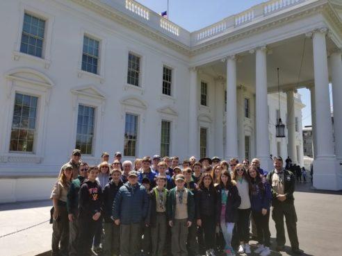 Troop 173 in Washington, D.C.