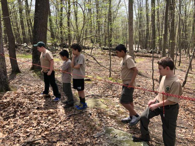 Troop 173's New Scout Campout
