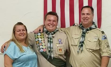 Congratulations to our Newest Eagle Scout, James!