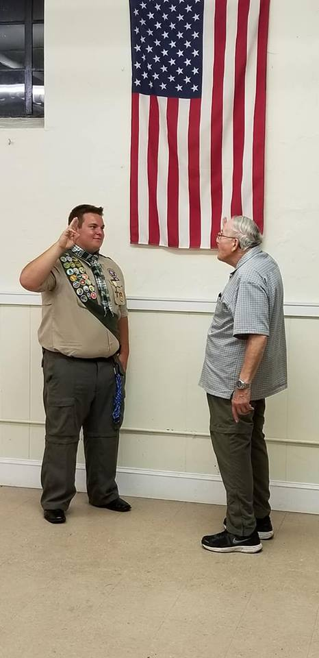 Congratulations to Troop 173's Newest Eagle Scout, James D!