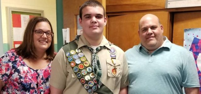 Congratulations to Ryan H on Earning His Eagle Scout Rank!