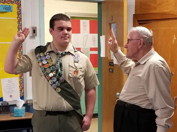 Congratulations to Troop 173's Newest Eagle Scout, Ryan H!