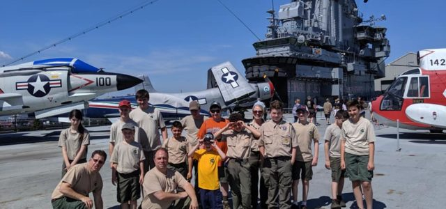 Troop 173 Visits the Intrepid & Con Ed!